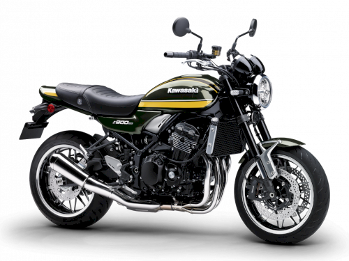 Fotografía Z 900 RS GREEN 2021